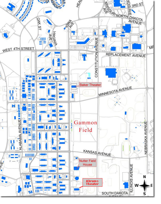 Fort Leonard Wood Graduation Information Maps